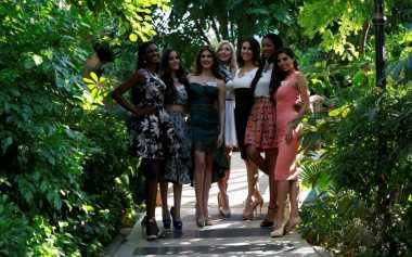 Kontestan Miss World 2015 Jalani Syuting Video Profil