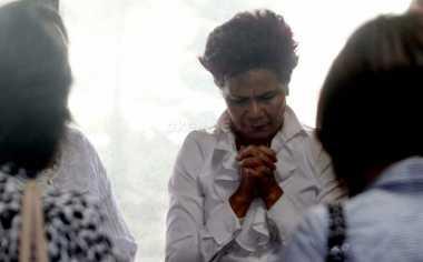 Miranda Goeltom: Pernikahan Putri Ketua DPR Berjalan Khidmat