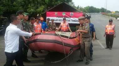 Antisipasi Banjir, Kecamatan Tambora Simulasi di Kali Angke