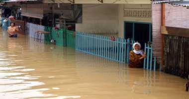 Banjir Melanda Tiga Dusun di Siberut