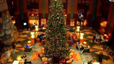 Hotel di Jakarta Mulai Berhias Sambut Natal