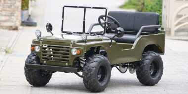 Jeep CJ Army Bermesin 50 Cc