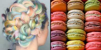 Manisnya Macaron Jadi Inspirasi untuk Tren Rambut 2016