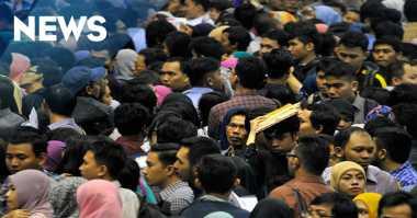 Angka Pengangguran di Indonesia Tertinggi se-ASEAN