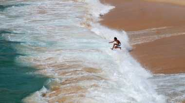 Pantai Sawarna Indah Tapi Akses Sulit