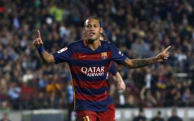 Neymar Kembali Catatkan Namanya di Papan Skor