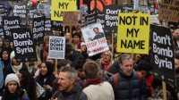 Warga Inggris Demo Rencana Serangan Udara ke Suriah