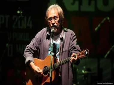 Konser di Karanganyar, Iwan Fals Minta Pelaku Pembakaran Hutan Di-'Bongkar'