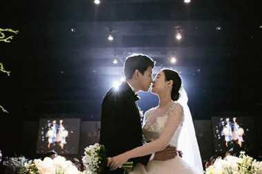Foto-Foto Resmi Pernikahan Dongho 'Eks U-KISS'
