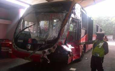 Sopir Bus Transjakarta Resmi Ditetapkan Tersangka