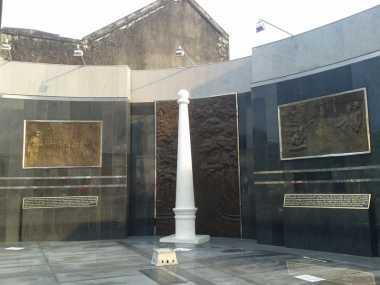 Landmark Baru Yogyakarta, Diorama Tugu Golong Gilig