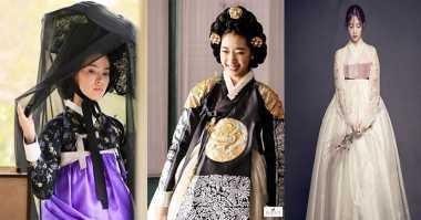 Sederet Aktris Korea yang Cantik dengan Hanbok