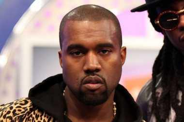 Foto Menggemaskan Kanye West