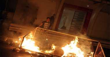 Warga Bentrok di Lampung, Dua Rumah Dibakar