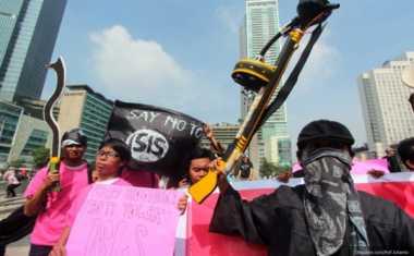 Bendera ISIS 'Nongol' di NTT