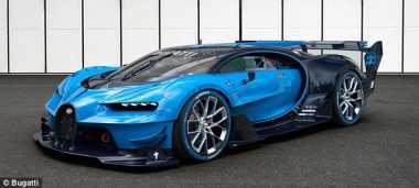 Mobil Tercepat di Dunia Bugatti Chiron Dibanderol Rp34 M?
