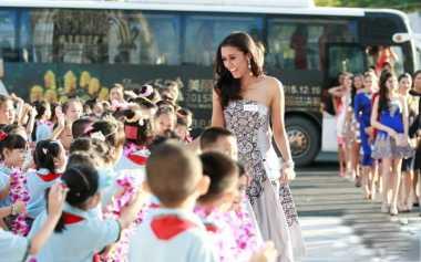 Ikut Miss World, Maria Harfanti Didukung Teman Sekampus