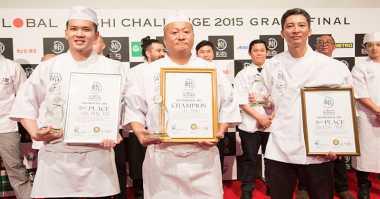 Ini Juara Kompetisi Global Sushi Challenge 2015