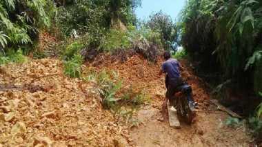 Banjir dan Longsor, 2.100 KK di Kampar Terancam Kelaparan