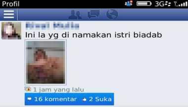 Foto Bugil Wanita di Jambi Hebohkan Pengguna Facebook