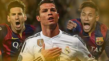 Sulit Membantah Kehebatan Neymar, Messi dan CR7