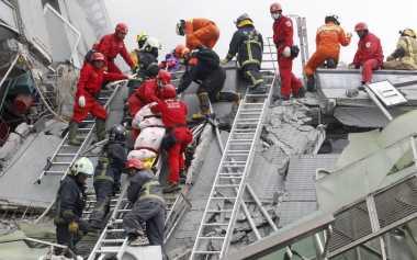 Tiga WNI Meninggal, KDEI Buka Posko Darurat Gempa Taiwan
