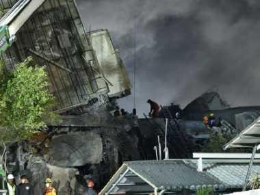 Korban Gempa Taiwan Jadi 14 Orang