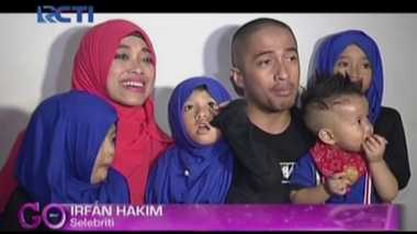 Pengalaman Irfan Hakim Ajak Anak Umrah