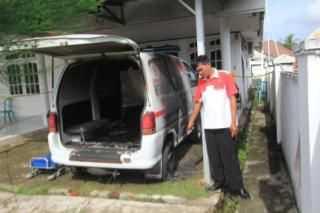 Kantor DPD Gerindra Bengkulu Dilempar Bom Molotov