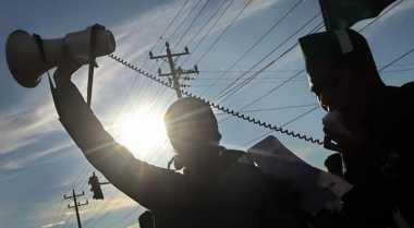 528 Personel Kepolisian Tangerang Amankan Aksi Buruh