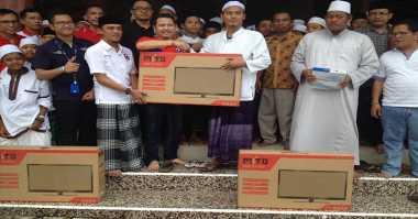 Bantuan Sosial dari Hary Tanoe Disambut Bahagia