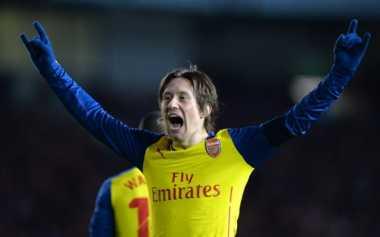 Belum Pulih Total, Bintang Arsenal Kembali Cedera Parah