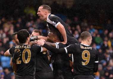 Leicester Sukses Bungkam City di Babak Pertama