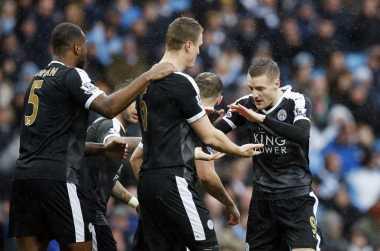 Huth Kembali Cetak Gol untuk Leicester