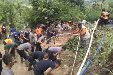 Tebing Ambrol, Jalan Alternatif Yogyakarta-Purworejo Ditutup