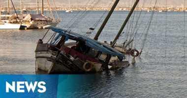 Keluarga Korban Perahu Terbalik Pasrah Tunggu Suaminya Ditemukan