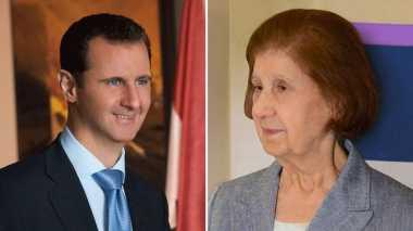 Ibunda Presiden Suriah Tutup Usia