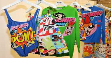 Moschino Kolaborasi dengan Powerpuff Girls