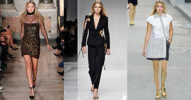 Naomi Campbell Ajari Gigi Hadid Cara Jalan Supermodel