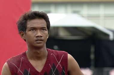 Pedagang Kerang Taklukkan Sasuke Ninja Warrior Indonesia