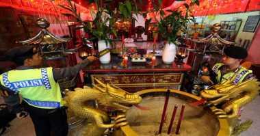 450 Personil Aparat Gabungan Di Bekasi Amankan Perayaan Imlek