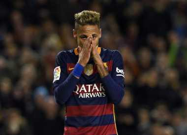 Neymar Dibuat Marah oleh Rekan Setimnya