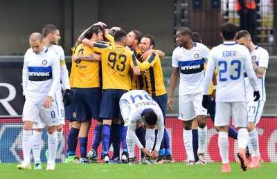 Sempat Unggul, Inter Balik Tertinggal dari Verona