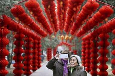 Festival Kuil Meriahkan Imlek di Beijing