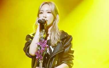 Taeyeon 'SNSD' Sapa Fans di Malam Tahun Baru Imlek