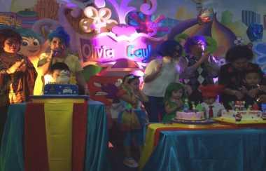 Joy Tobing Gelar Pesta Besar untuk Ultah Anak