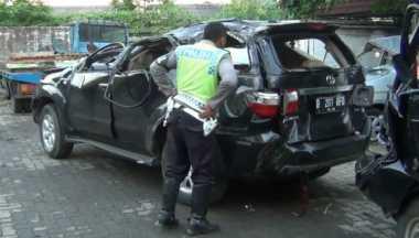 Polisi Pastikan Fortuner Maut Bukan Milik TNI