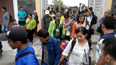 50 Orang Eks Gafatar Tiba di Riau