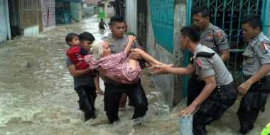 Banjir Bandang Terjang Kota Binjai, Ribuan Rumah Terendam