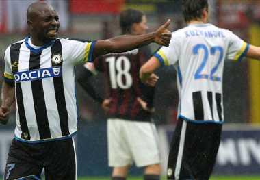 Udinese Nodai Tren Positif Milan